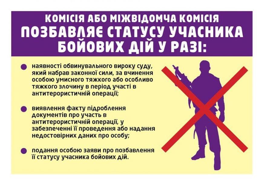 Поради учасникам бойових дій щодо збереження прав та соціальних гарантів (фото) - фото 2