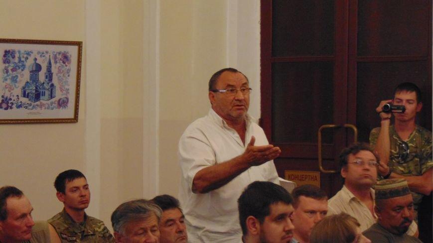 Жители Водяного пожаловались мэру Мариуполя на решение СНБУ (фото) - фото 1