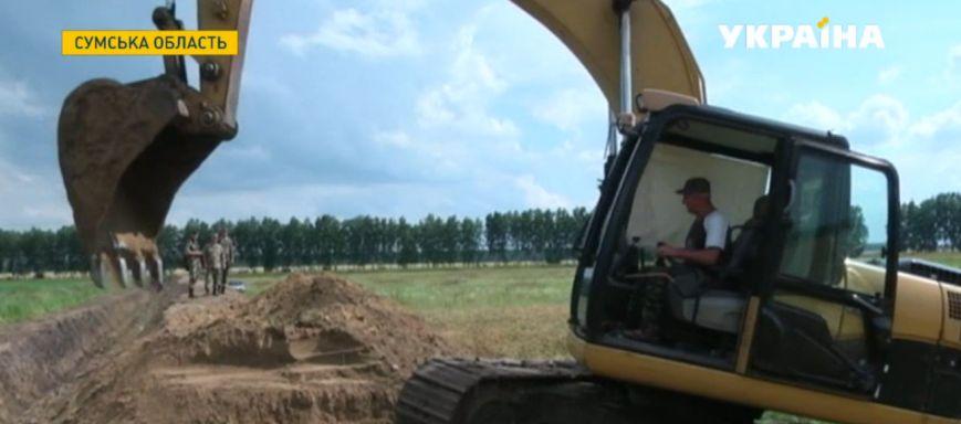 Границу Сумской области продолжают укреплять (ФОТО) (фото) - фото 1