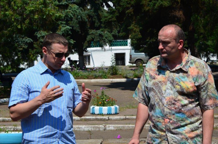 """Депутаты партии """"УКРОП"""" Виталий Куприй и Валентин Дидыч посетили Широкино, познакомились с мэром Мариуполя, навестили стариков и детей, фото-3"""