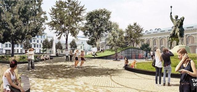 В Киеве официально презентовали новый проект Контрактовой площади (ФОТО) (фото) - фото 1