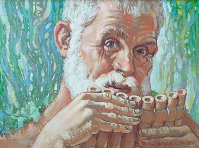 У Житомирі мистецьке відкриття - ювілейна персональна виставка Миколи Бутковського (фото) - фото 1