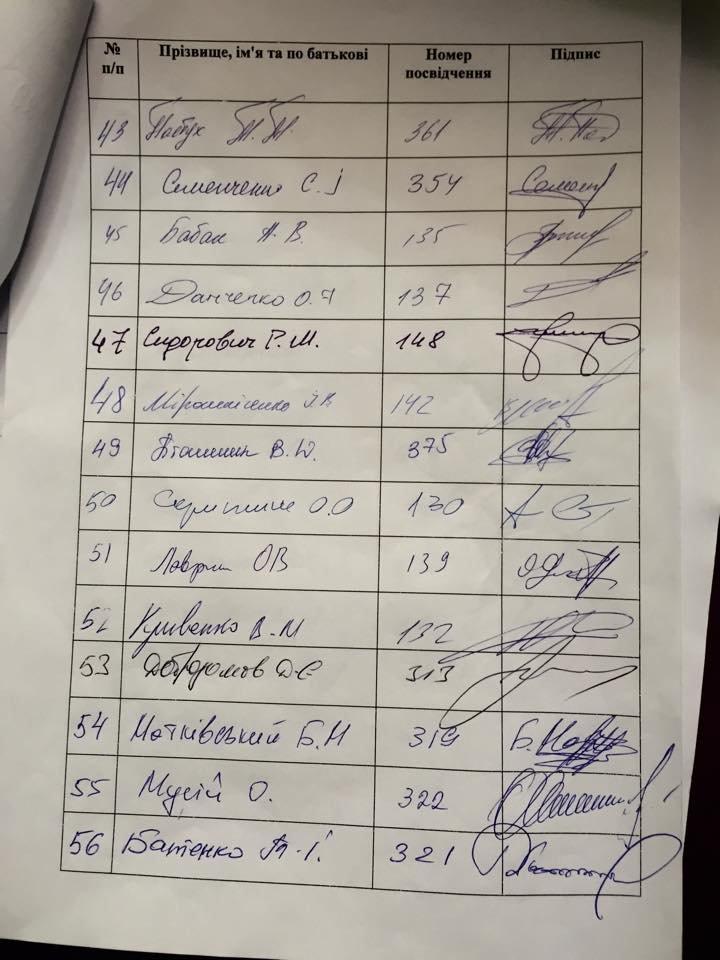 Нардепы от Кривого Рога не подписали постановление об отставке генпрокурора, фото-4