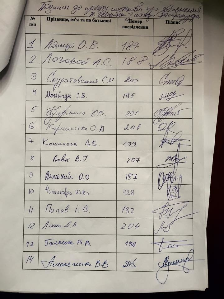 Нардепы от Кривого Рога не подписали постановление об отставке генпрокурора, фото-1