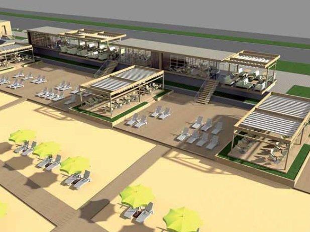 Частная фирма разработала проект реконструкции Центрального пляжа Запорожья (фото) - фото 3