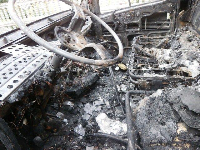 У Бердичеві на вулиці загорівся Fiat Ducato (фото) - фото 1