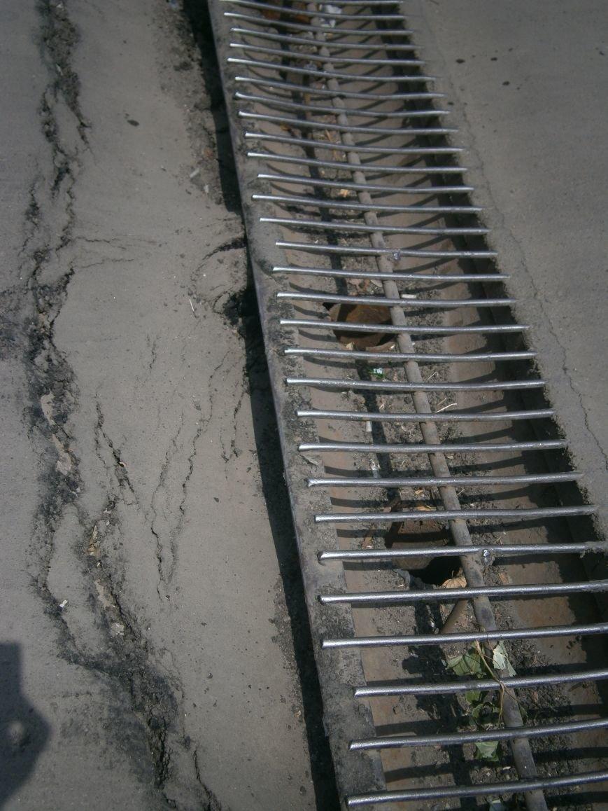 Попытка усовершенствовать ливневую систему в Димитрове – провалилась (фото) - фото 3