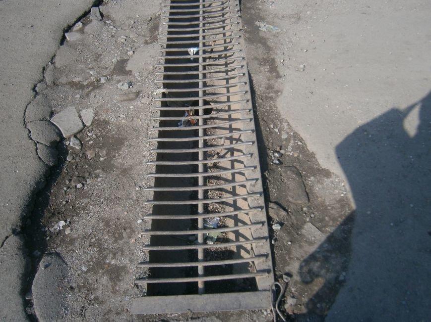 Попытка усовершенствовать ливневую систему в Димитрове – провалилась (фото) - фото 2