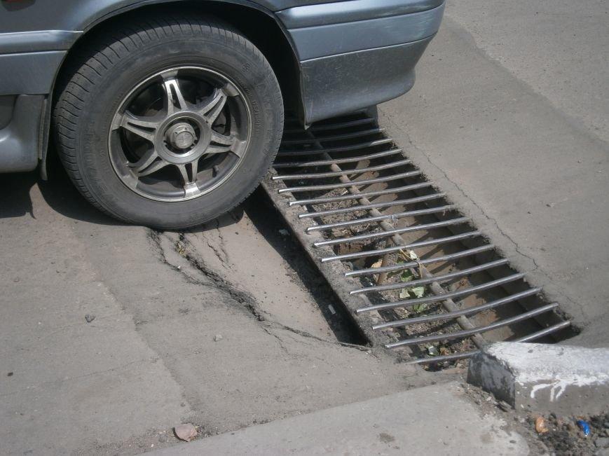 Попытка усовершенствовать ливневую систему в Димитрове – провалилась (фото) - фото 9
