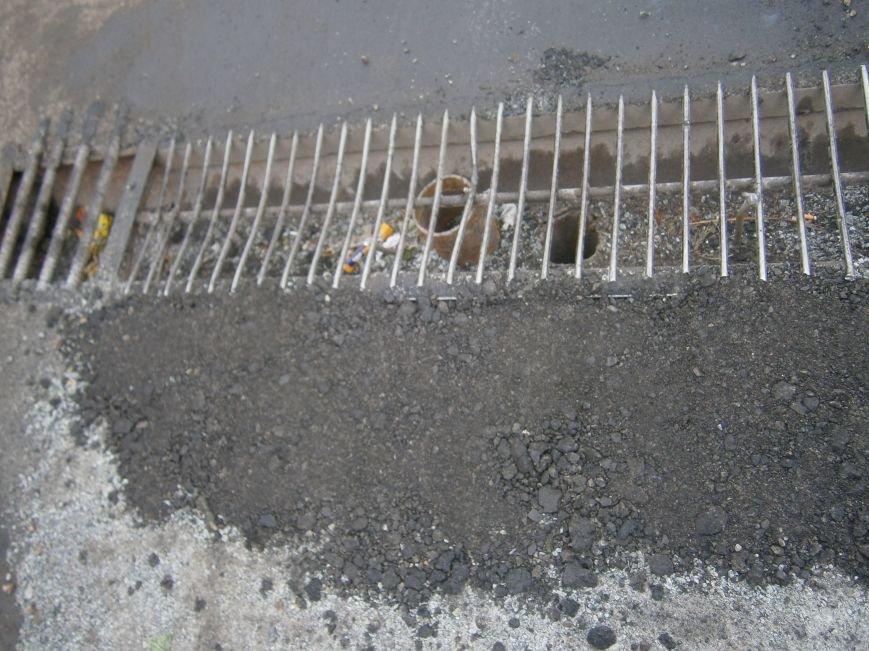 Попытка усовершенствовать ливневую систему в Димитрове – провалилась (фото) - фото 12