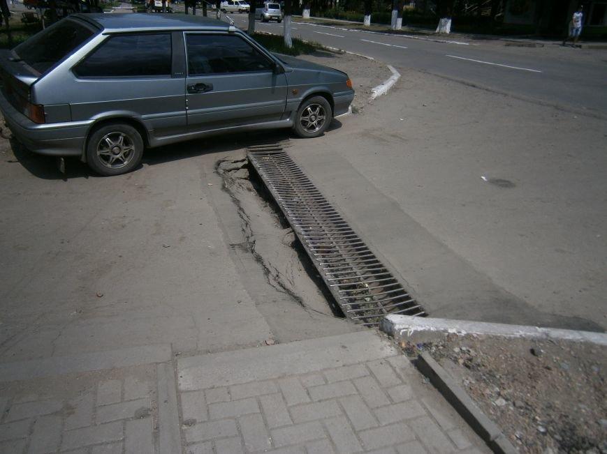 Попытка усовершенствовать ливневую систему в Димитрове – провалилась (фото) - фото 10