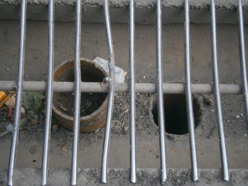 Попытка усовершенствовать ливневую систему в Димитрове – провалилась (фото) - фото 4