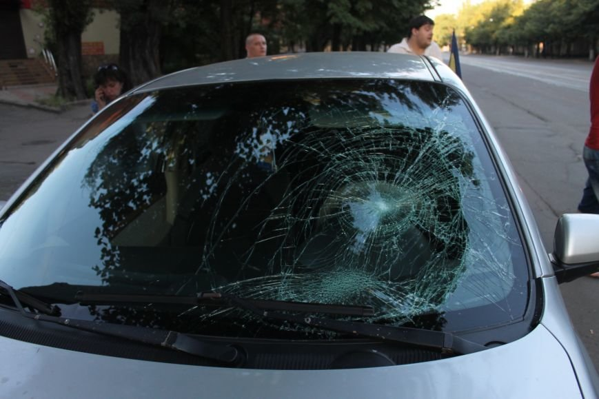 В Кривом Роге ребенок на велосипеде попал под колеса  «Chevrolet» (ФОТО), фото-1