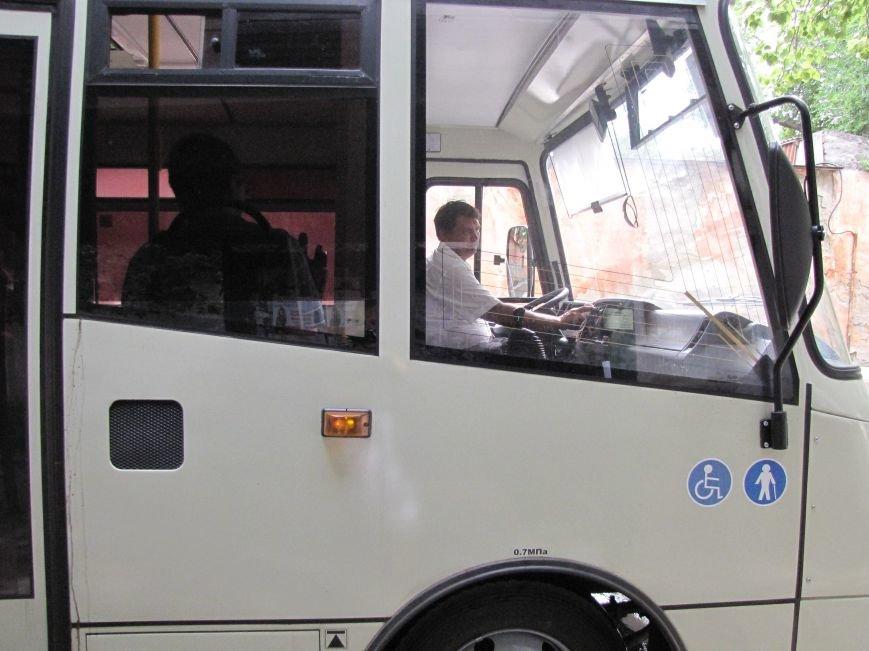 В Феодосии на маршруте №1 новые автобусы (Фото), фото-1