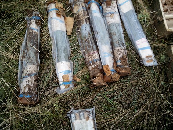 Тайник с боеприпасами из зоны АТО раскопали на Днепропетровщине (фото) - фото 3