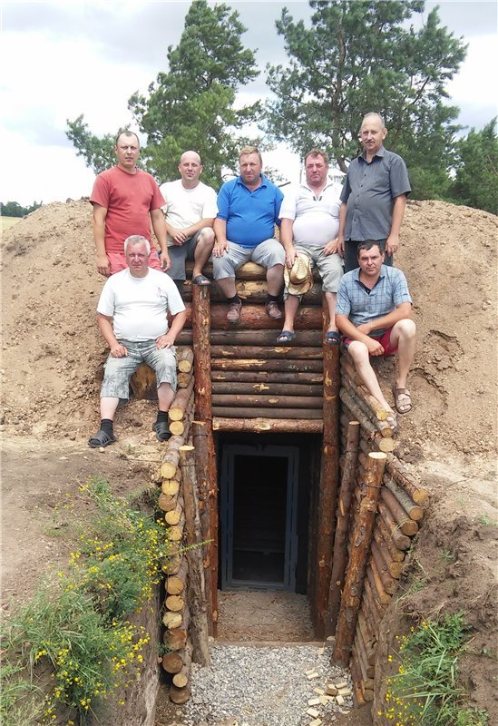 Тлумаччани будують на сході лінію оборони (ФОТО) (фото) - фото 1