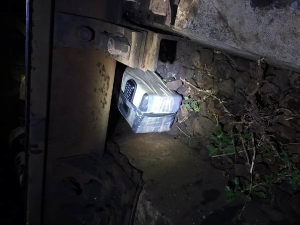 На Харьковщине СБУ задержала диверсанта, когда тот пытался подорвать железную дорогу (ФОТО+ВИДЕО) (фото) - фото 1