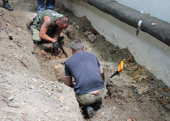 В Севастополе на территории воинской части найдены останки 14 советских воинов (ФОТО), фото-1