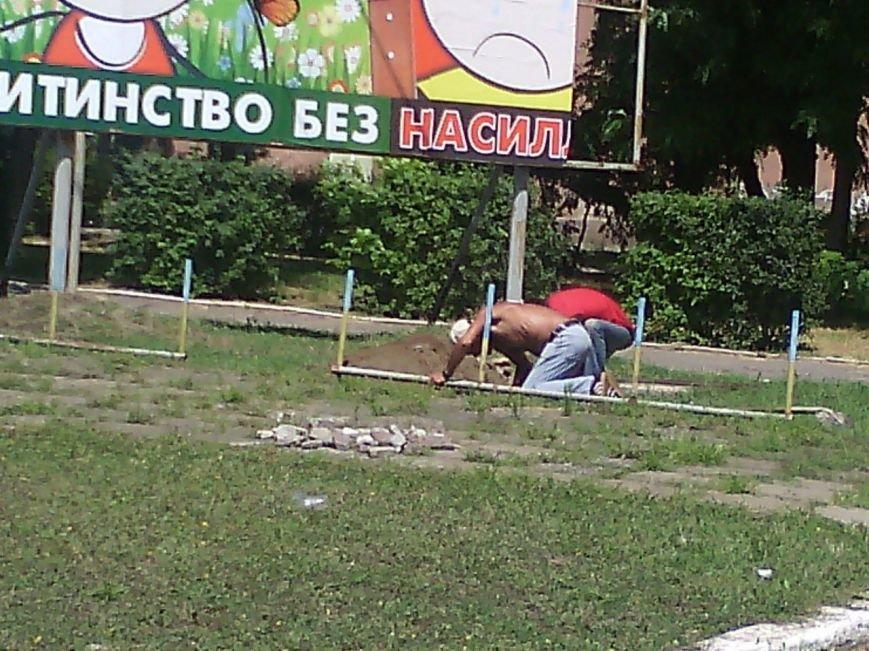 В Очакове начали сооружать фонтан (ФОТОФАКТ) (фото) - фото 1