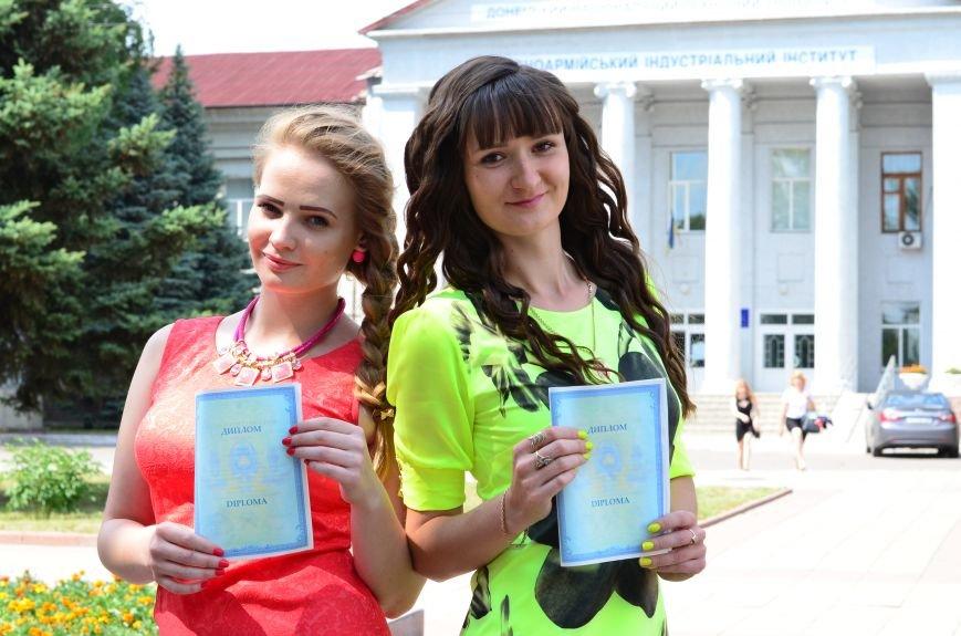 В ДонНТУ Красноармейска дипломы сегодня вручили дважды, фото-22