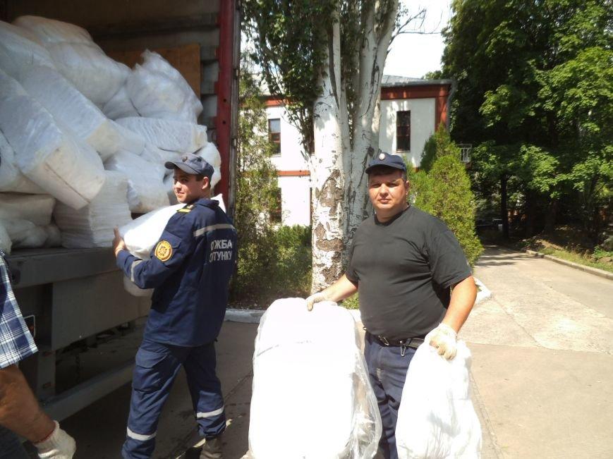 Накануне приезда главного спасателя в Краматорск прибыла гуманитарная помощь (фото) - фото 2