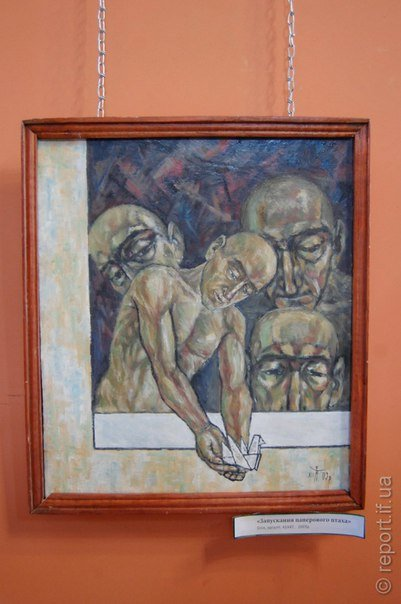 Війна та корупція на полотнах прикарпатського митця (ФОТО) (фото) - фото 1