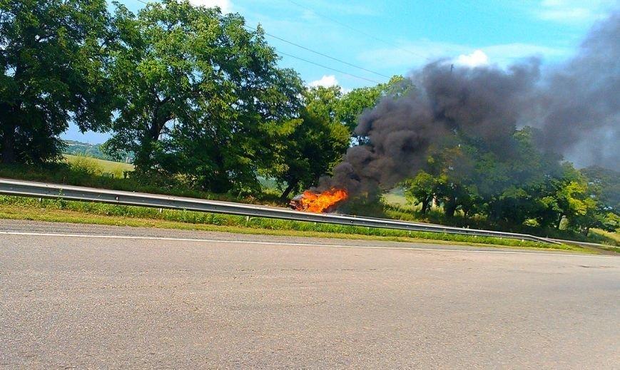 трасса авто горит3