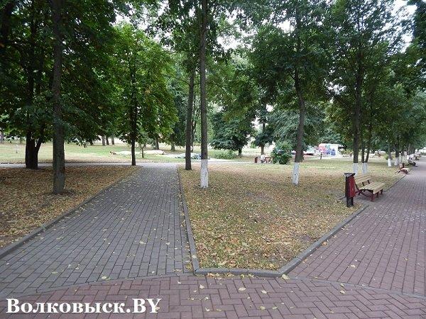 Чиновники пообещали к 1010-летию Волковыска построить аттракционы, но парк до сих пустует (фото) - фото 2