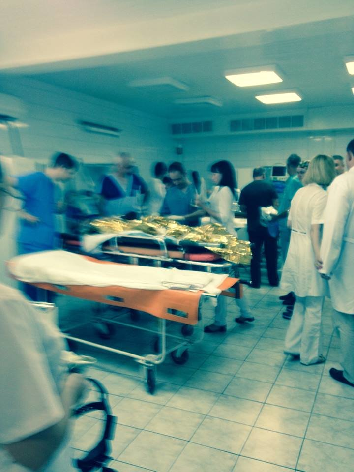 За прошедшие сутки Днепропетровск принял четыре борта с ранеными из зоны АТО, фото-3