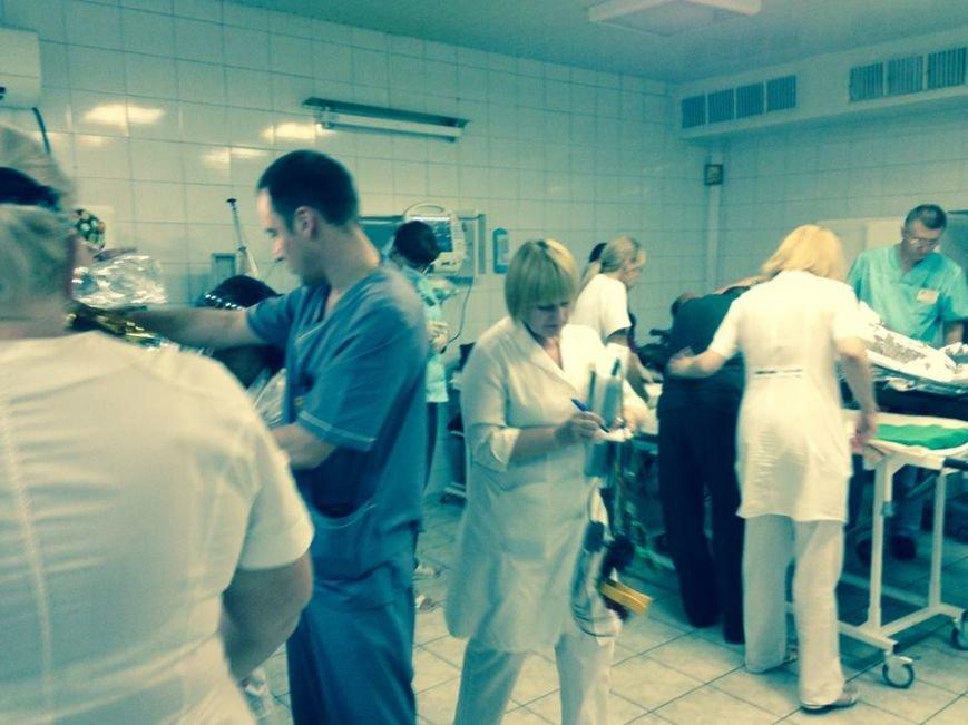 За прошедшие сутки Днепропетровск принял четыре борта с ранеными из зоны АТО, фото-2