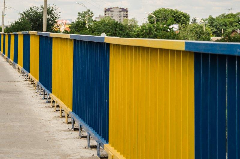 Мосты и путепроводы Днепропетровской области покрасят в сине-желтые цвета (фото) - фото 2