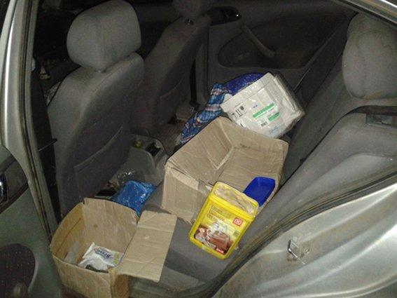 На Днепропетровщине волонтер перевозил пластид (фото) - фото 1