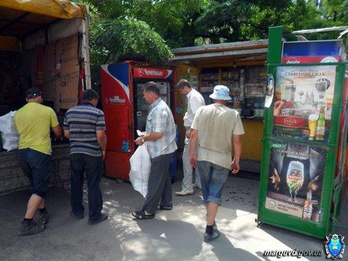 В Мариуполе демонтировали незаконные торговые киоски (ФОТО), фото-4