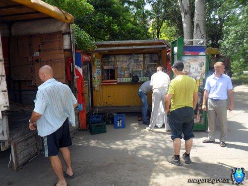 В Мариуполе демонтировали незаконные торговые киоски (ФОТО), фото-5