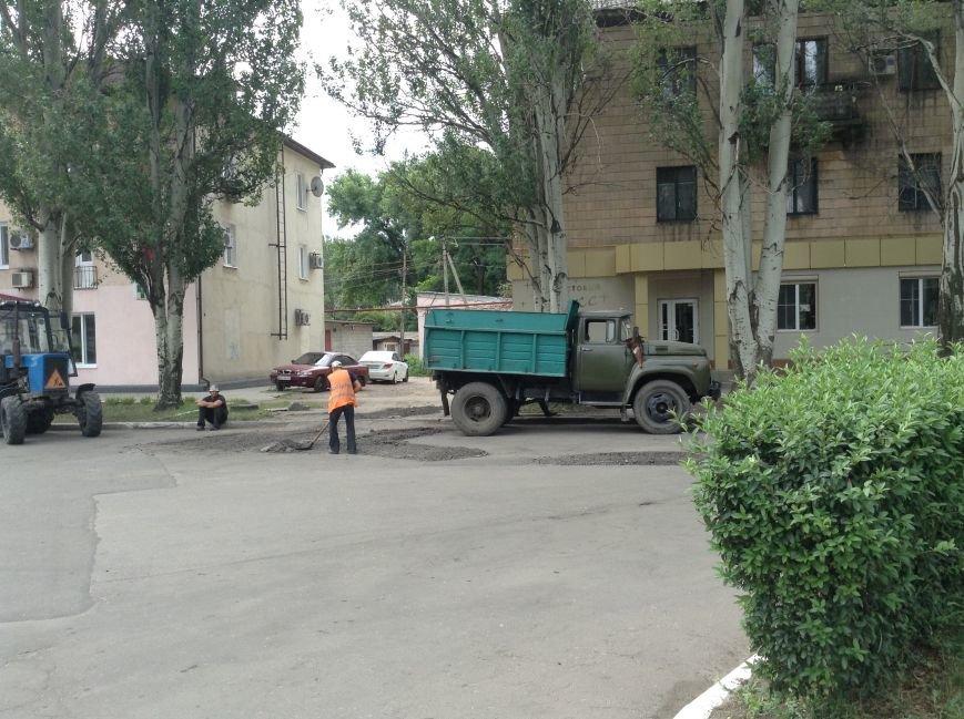 Ремонт дорог Красноармейска наполовину завершен, фото-1