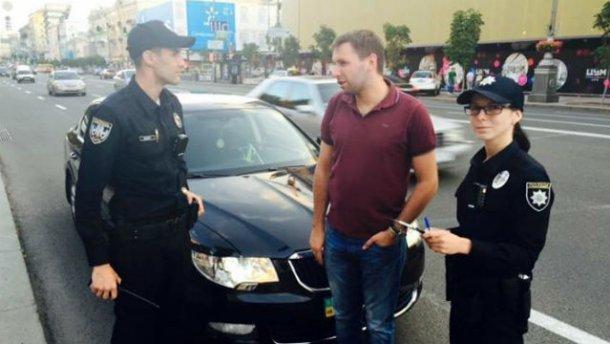 Київська поліція спіймала Парасюка на порушенні правил дорожнього руху (ФОТО) (фото) - фото 1
