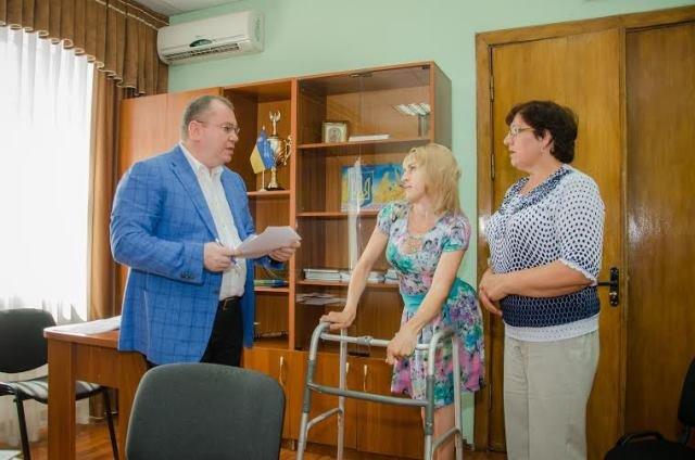 В Павлоград с выездным приемом в райгосадминистрацию приезжал губернатор области, фото-2