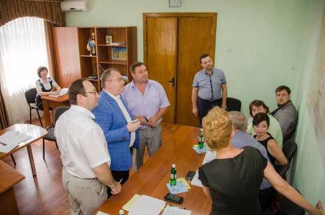 В Павлоград с выездным приемом в райгосадминистрацию приезжал губернатор области, фото-1