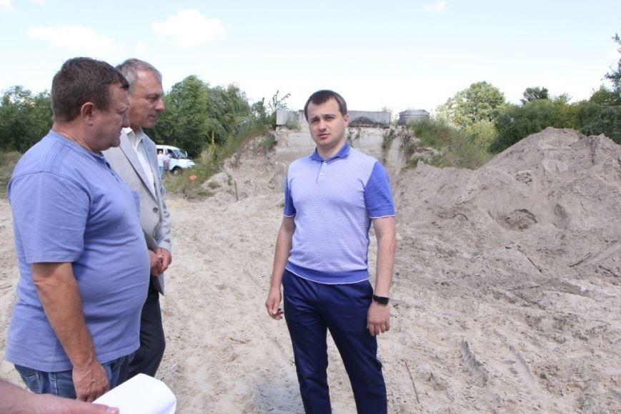 Благодаря Березенко коллектор планируют достроить до конца октября, фото-1