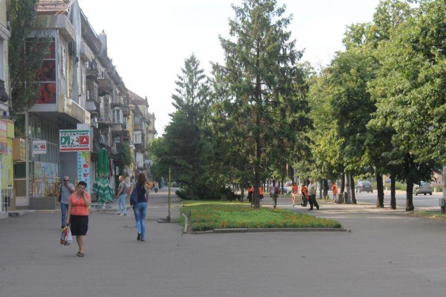 Жители  Кривого Рога отмечают, что подготовка к визиту Президента не мешает нормальному рабочему ритму города (ФОТО), фото-6