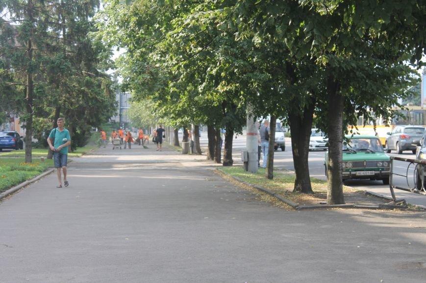 Жители  Кривого Рога отмечают, что подготовка к визиту Президента не мешает нормальному рабочему ритму города (ФОТО), фото-1
