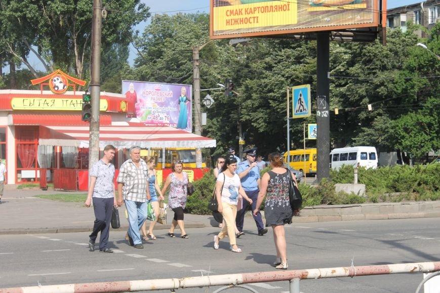 Жители  Кривого Рога отмечают, что подготовка к визиту Президента не мешает нормальному рабочему ритму города (ФОТО), фото-3