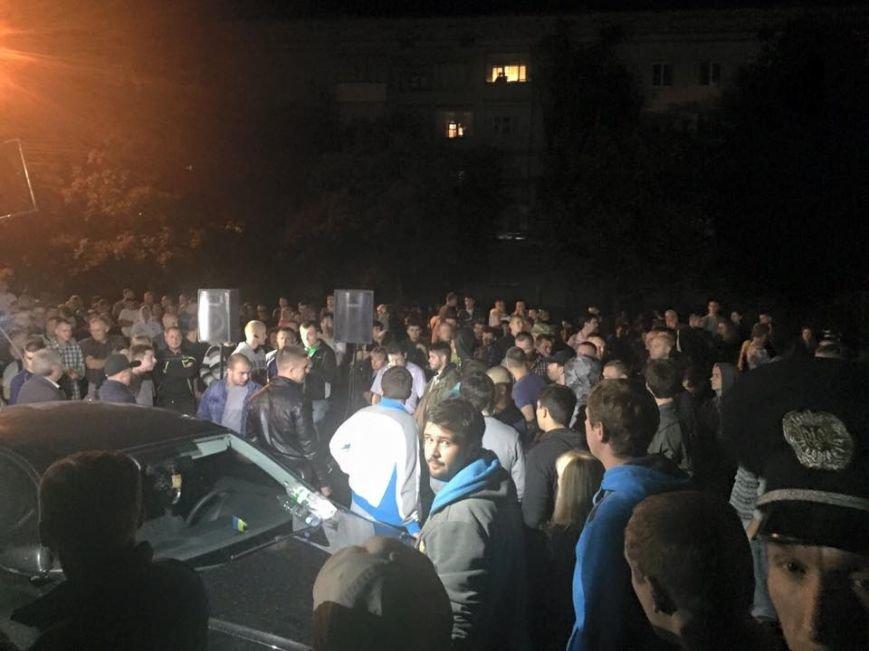 Ночью в Чернигове «воевали» штабы двух кандидатов, фото-4