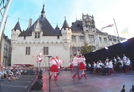 Хмельницький міліцейський оркестр виступив у Франції (ФОТО+ВІДЕО) (фото) - фото 1