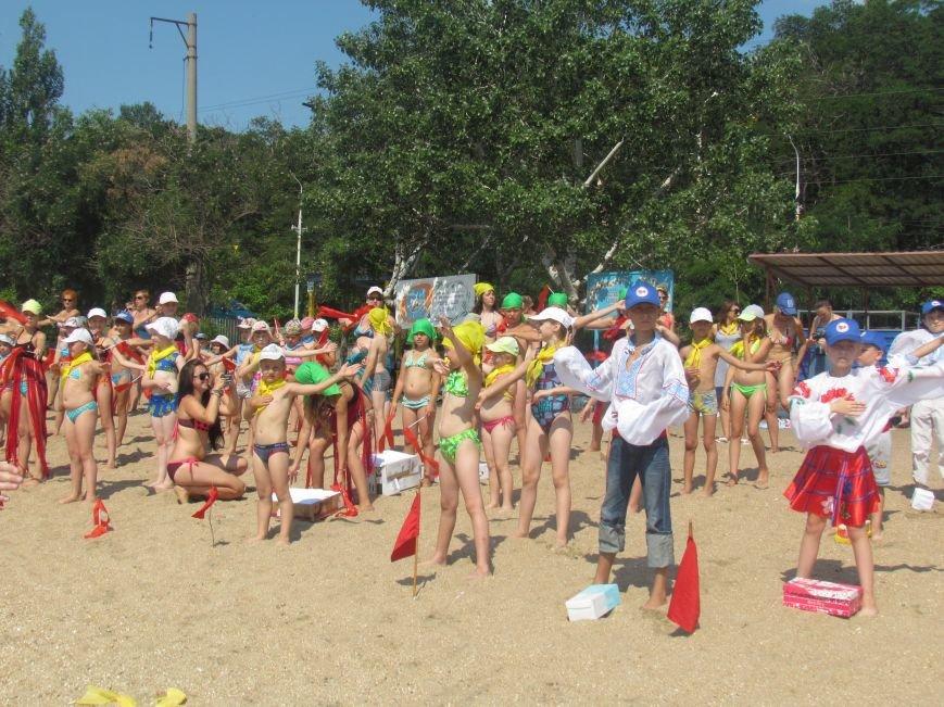 Дети Мариуполя устроили флеш-моб в честь Дня металлурга (ФОТО), фото-4