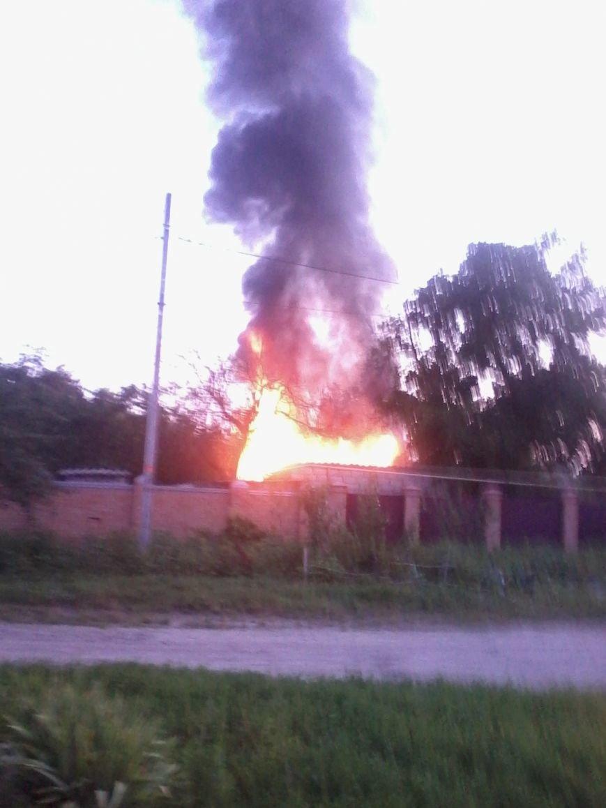 Вчера в Кировограде произошел пожар. ФОТО, фото-1