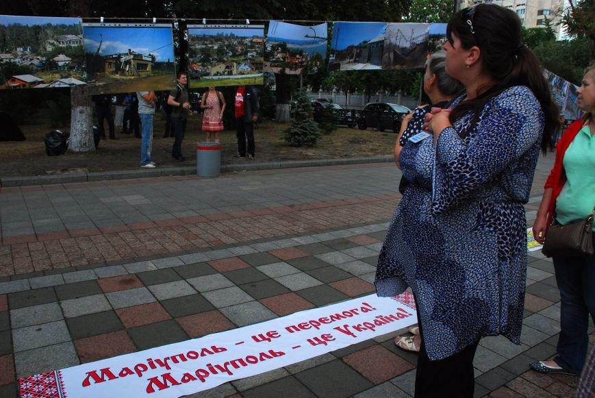 Мариупольцы устроили фотовыставку под стенами Верховной Рады (ФОТОРЕПОРТАЖ+ВИДЕО), фото-18