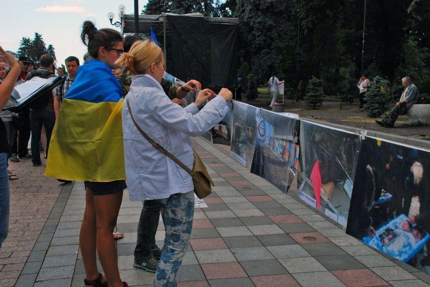 Мариупольцы устроили фотовыставку под стенами Верховной Рады (ФОТОРЕПОРТАЖ+ВИДЕО), фото-11