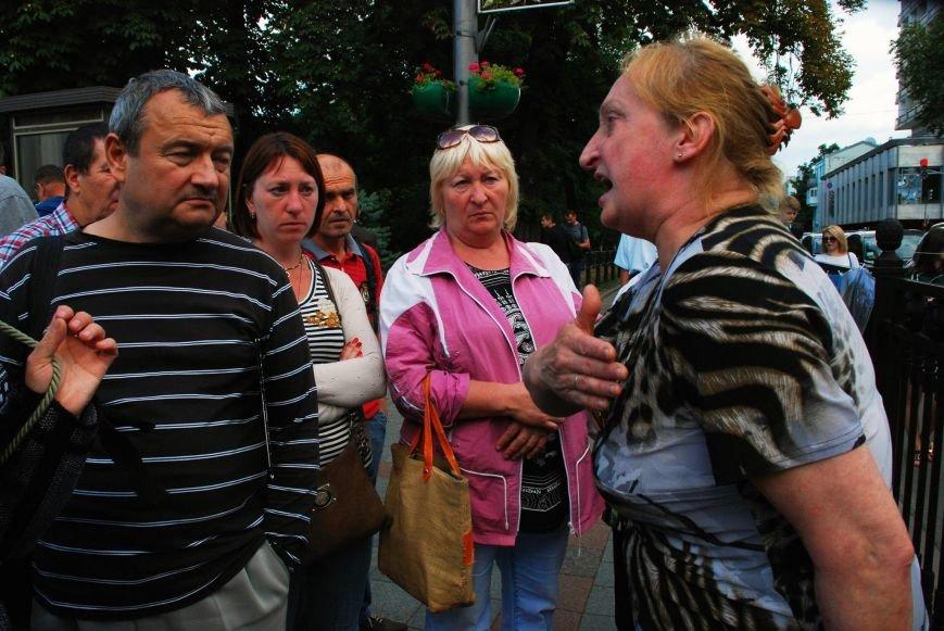 Мариупольцы устроили фотовыставку под стенами Верховной Рады (ФОТОРЕПОРТАЖ+ВИДЕО), фото-13