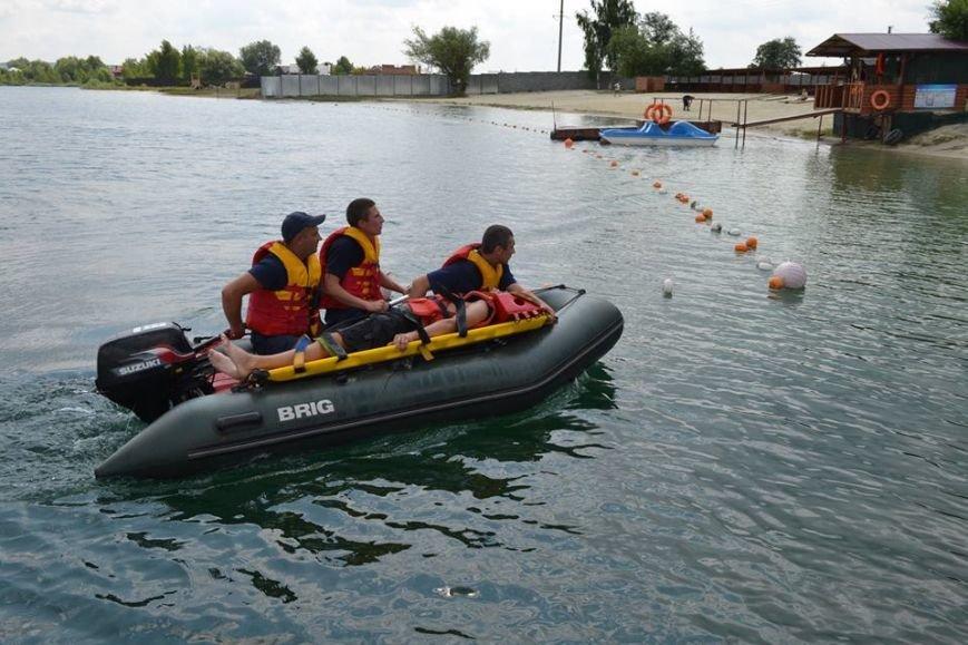 Рятувальники навчали львів'ян безпечній поведінці на воді (ФОТО+ВІДЕО) (фото) - фото 2